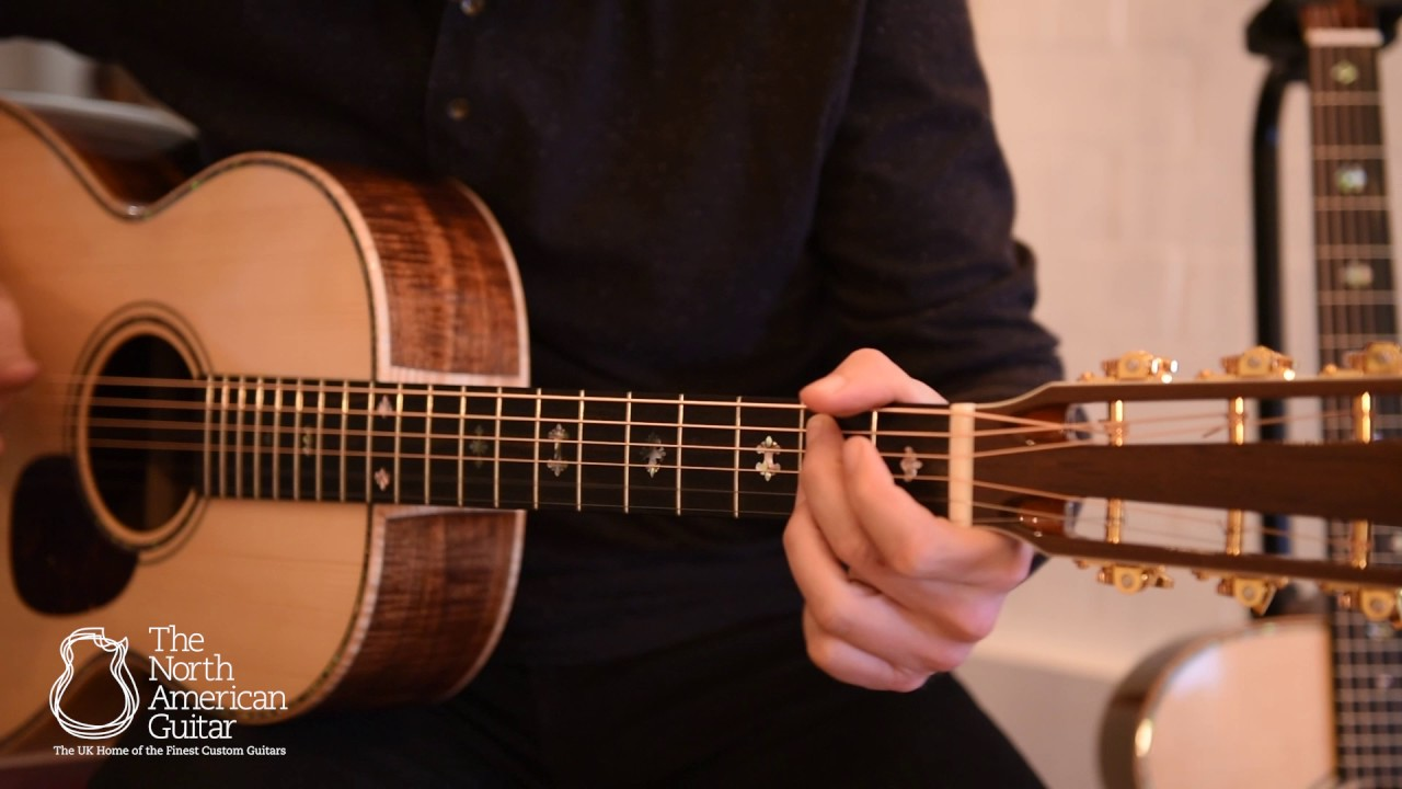 Froggy Bottom H12 Limited Acoustic Guitar Youtube