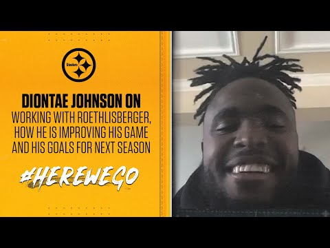 Diontae Johnson: 'My Goal Is To Win A Championship' | Pittsburgh Steelers