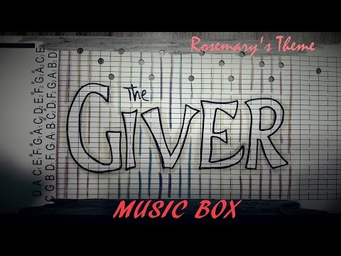 The Giver Music Box -- Rosemary's Theme