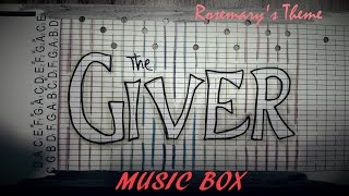 The Giver Music Box -- Rosemary