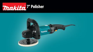 "MAKITA 7"" Polisher Thumbnail"