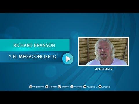 Millonario británico planea un recital benéfico en la frontera venezolana