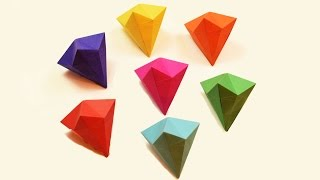 How to make a paper Diamond?