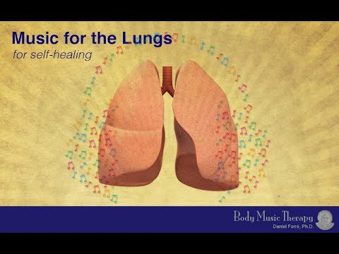 1hour Music for the Lungs 【Body Music Therapy】 healing meditation music