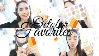 OCTOBER FAVORITES 2016 | BECKYMORFIN | BEAUTY, SKIN CARE AND MORE