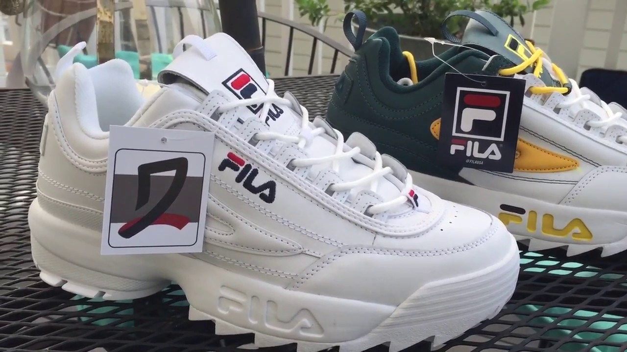 reasonable price browse latest collections lovely design Fila Disruptor II Premium Navy & Split SMU Green Gold- Buy Now