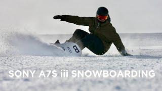 SNOWBOARDING - Sony A7S III