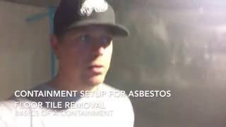 Floor Tile Containment | Kalispell Asbestos Abatement