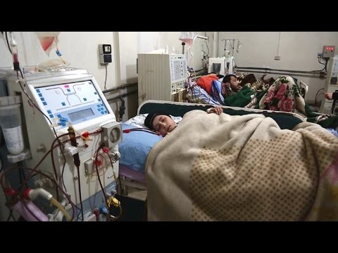 Belagerte Syrer in Duma: Dialyse oder Tod