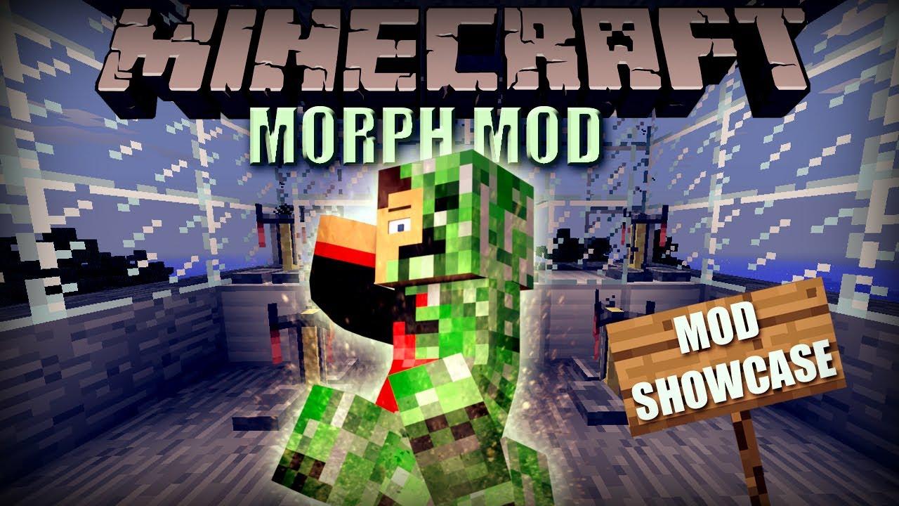 Minecraft: Morph Mod (Morph into ANY Mob / Shape Shifter) Mod