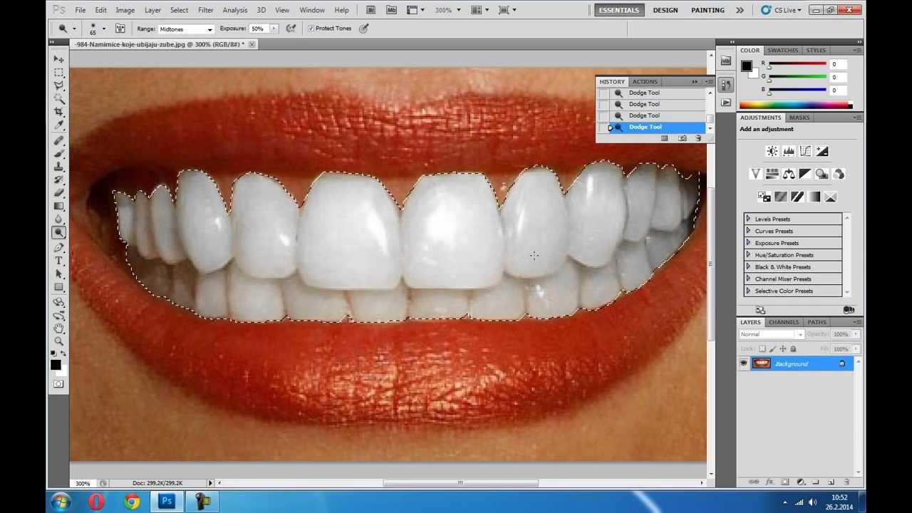 Белило за зубе