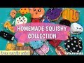 Homemade Squishy Collection💕 | From acrylic paint🎨 | Via Ananda❤