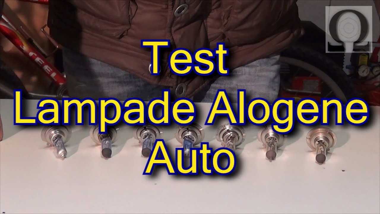 Test prova recensione lampade alogene auto h7 quale fa piu luce