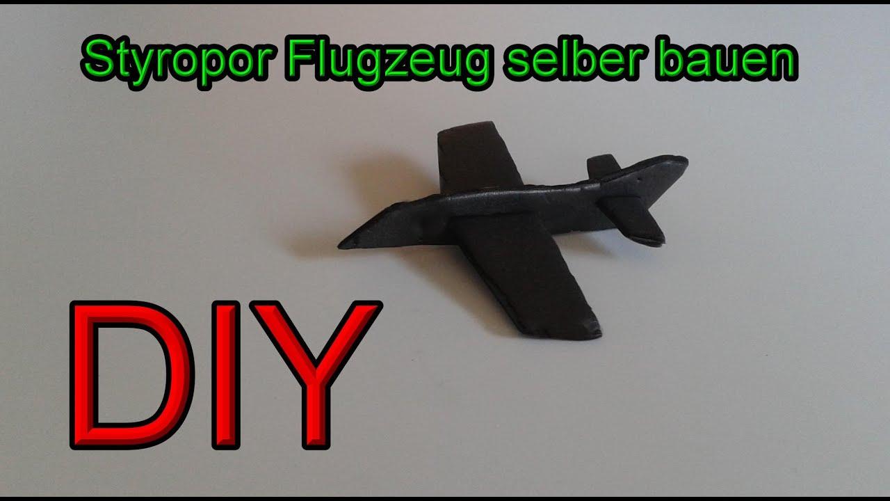 styropor flugzeug selber bauen styroporflieger machen flugzeuge aus styropor basteln diy. Black Bedroom Furniture Sets. Home Design Ideas