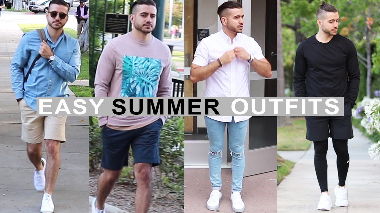4 Easy Summer Outfits for Men 2017 | Menu0026#39;s Fashion u0026 Style | Alex Costa #1546 on Go Drama