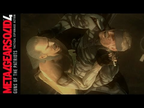 Metal Gear Solid 4 Guns of the Patriots - Part 28: A Score to Settle