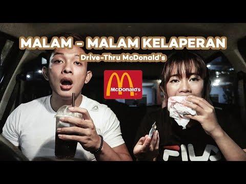 VLOG DADAKAN !!!! DRIVE-THRU MCD MALAM MALAM !!!