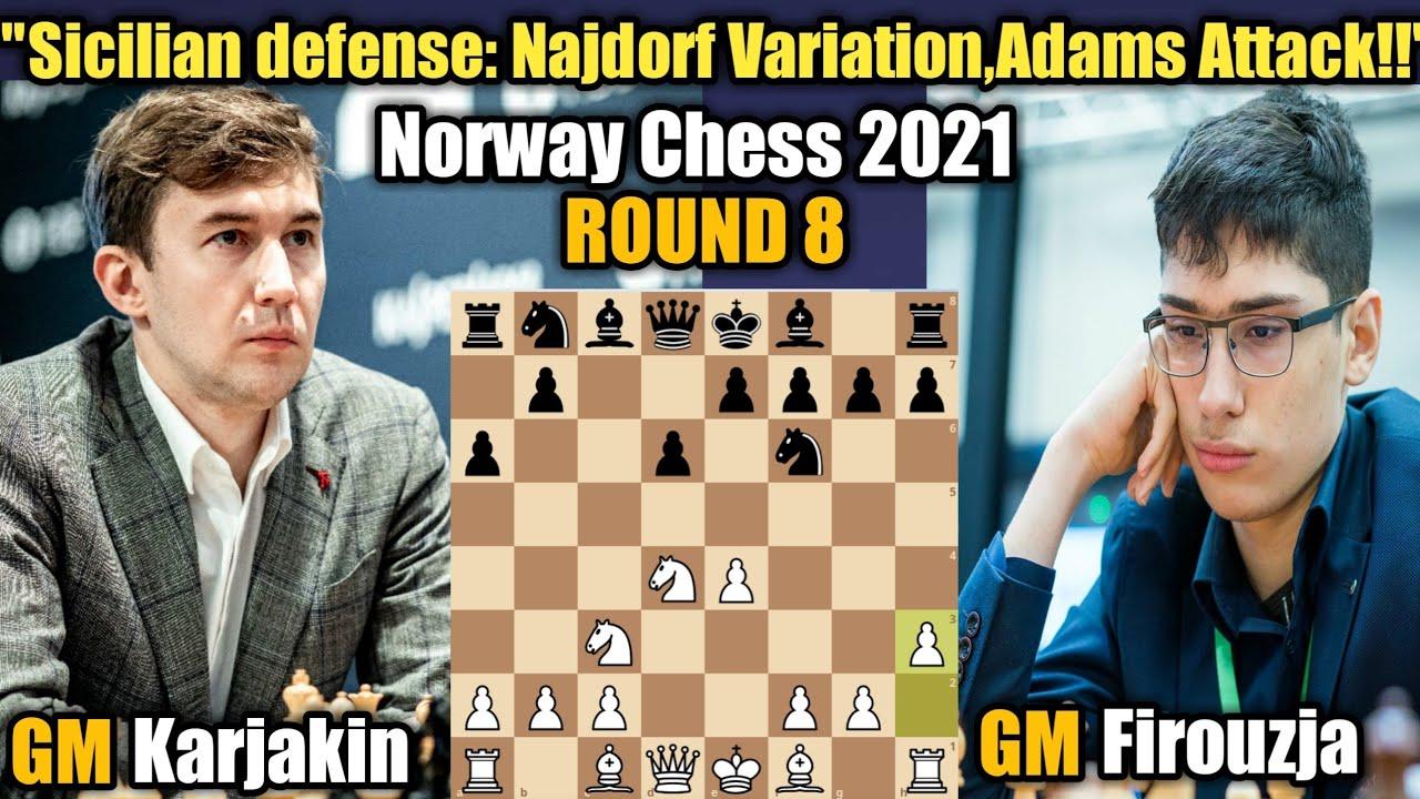 Download Norway Chess 2021   Sergey Karjakin VS Alireza Firouzja   Round 8