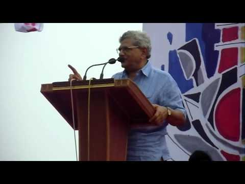 Sitaram Yechury in SFI,35th West Bengal State Conference