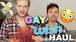 BUYING GAY ITEMS FROM WISH: A VERY GAY WISH HAUL