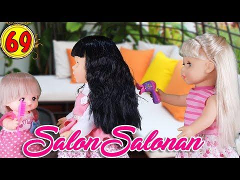 #69 Main Salon Salonan - Boneka Walking Doll Cantik Lucu -7L   Belinda Palace
