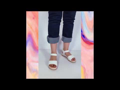 LÚCIA sandália - branco  (vegan)