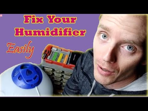 Fixing a Vicks Steam Humidifier - EASY and Satisfying!