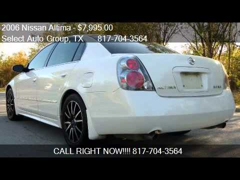Amazing 2006 Nissan Altima 3.5 SE 4dr Sedan (3.5L V6 5A) For Sale In