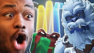 OPENING 50 WINTER LOOTBOXES (GOT ALL THE WINTER SKINS !) - Overwatch Christmas 2016 Update