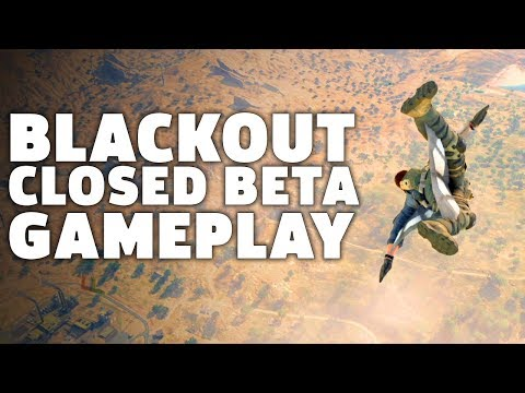 Call Of Duty: Blackout Closed Beta is LIVE