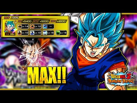 100% VEGITO BLUE SHOWCASE.....FAIL...KINDA | DOKKAN BATTLE | JPN |
