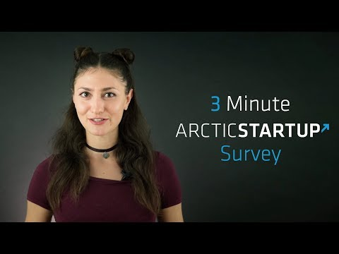 ArcticStartup Survey Invitation