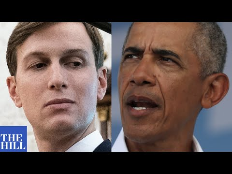 BREAKING: President Obama Slams Jared Kushner After Comments On Black Americans' Desire For Success