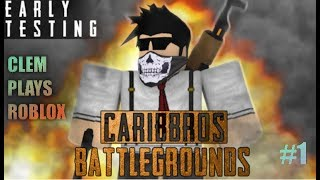 PLAYERUNKNOWN'S BATTLEGROUNDS | CaribBros BATTLEGROUNDS [ROBLOX]