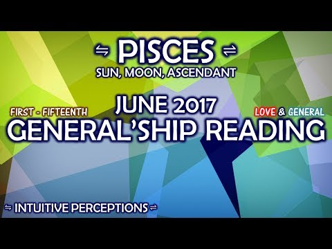 Repeat Pisces June Love Reading 2017 Weird Changes by Goddess Power