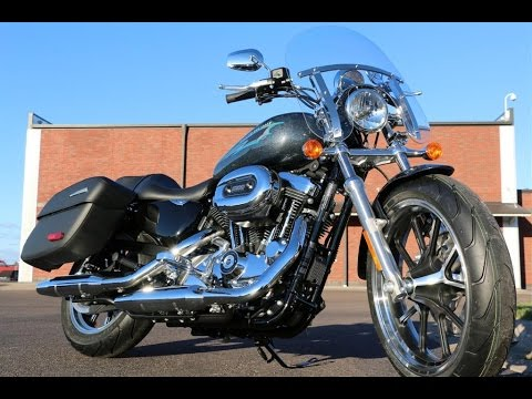 2015 Harley-Davidson XL1200T SuperLow Sportster motorcycle