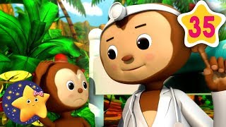 How To Count 5 Little Monkeys | Fun Learning with LittleBabyBum | NurseryRhymes for Kids