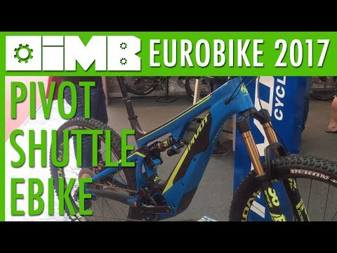Pivot Shuttle 2018 eBike - Chris Cocalis Interview