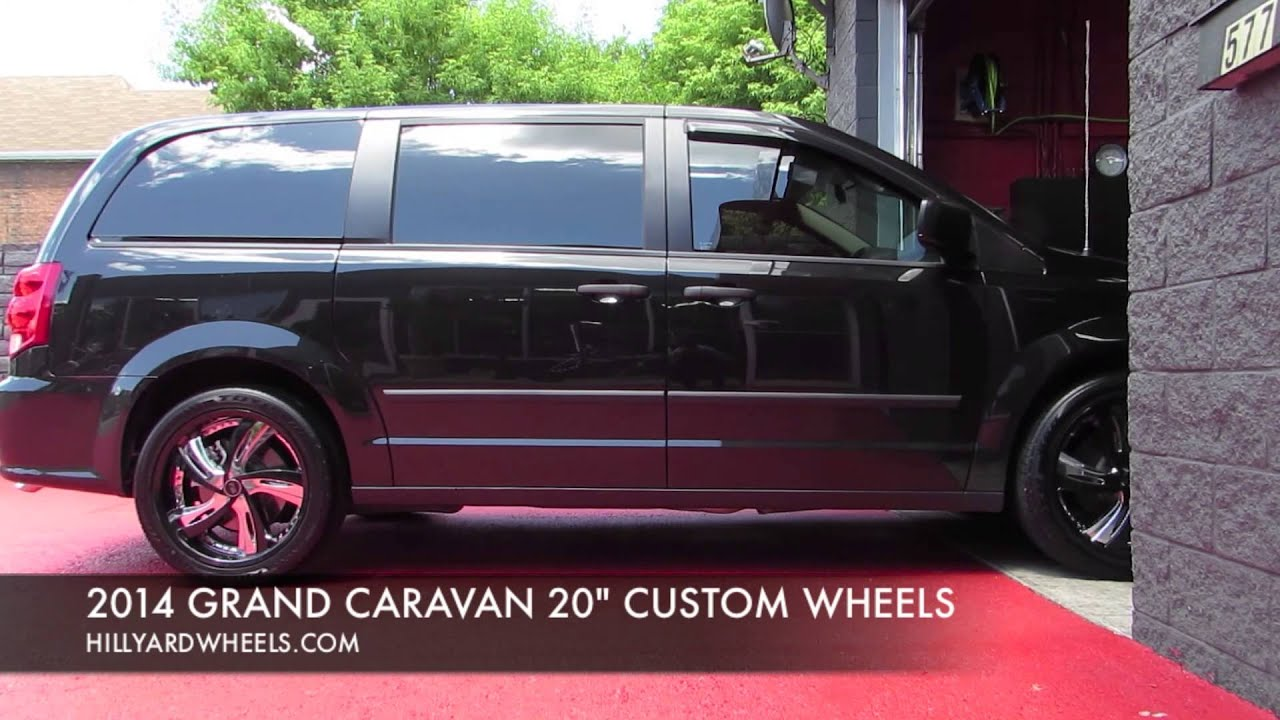 Hillyard custom rim tire 2014 dodge grand caravan custom 20 inch rims youtube