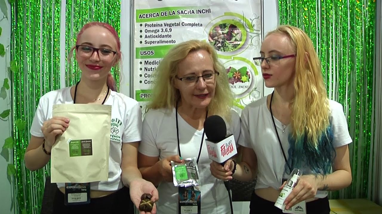 GMS and Inca with Semillas Saludables and Rainforest Treat at Expofitness 2020 in Medellin