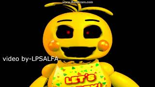 FNAF All Chica's sing-Die in a Fire (repload)