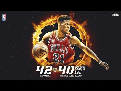 Jimmy Butler Drops 40 in the Second Half! Check out Every Point!
