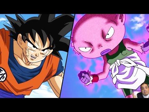 Dragon Ball Super Episode 42 ドラゴンボール超 Anime Review -- Goku Vs God Monaka -- Battle of Gods 2.. LOL