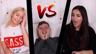 GIRLFRIEND VS SISTER!! 2 TRUTHS 1 LIE!!