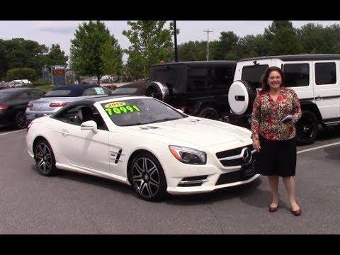 2015 Mercedes Benz Sl Class Sl550 White Arrow Edition Video Tour