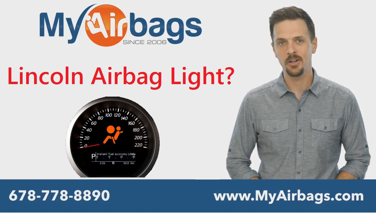 Lincoln SRS Airbag Light On After Accident? Clear all codes and seat belt  repair - MYAIRBAGS