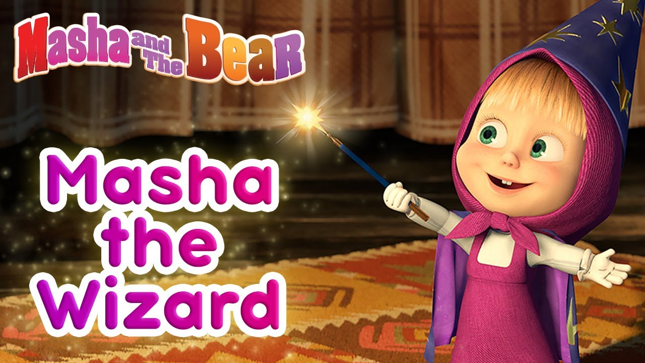 Masha and the Bear ✨⚡ Masha the Wizard ⚡✨ Magical cartoon collection for kids for Halloween