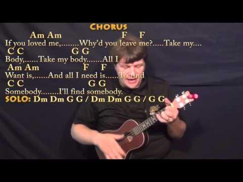 All I Want (Kodaline) Ukulele Cover Lesson with Chords/Lyrics