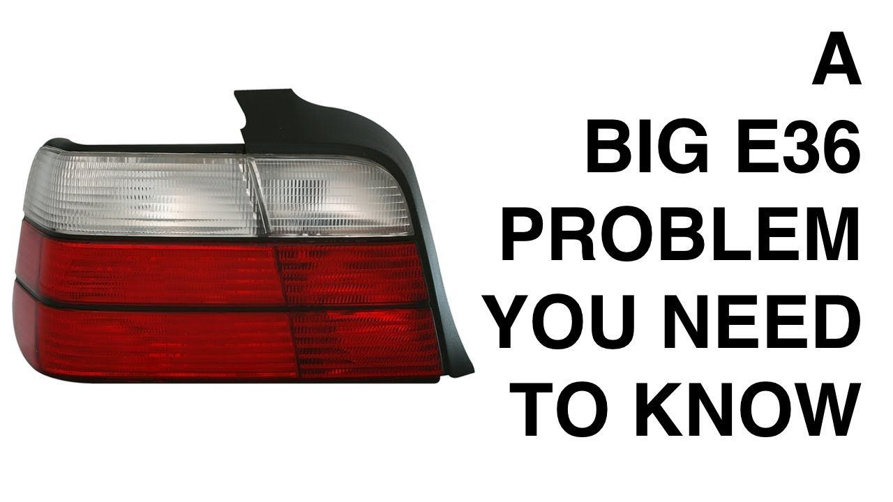 A Big E36 Problem You Need To Know