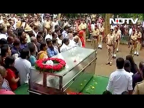 State Funeral For Journalist Gauri Lankesh Amid Outrage Over Her Murder